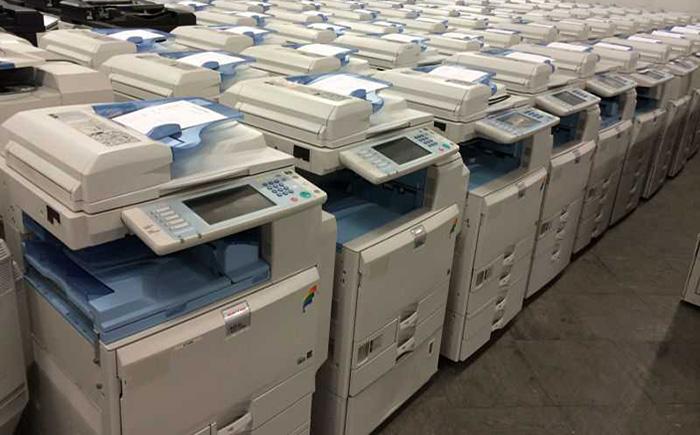 Máy photocopy hàng bãi nhập khẩu